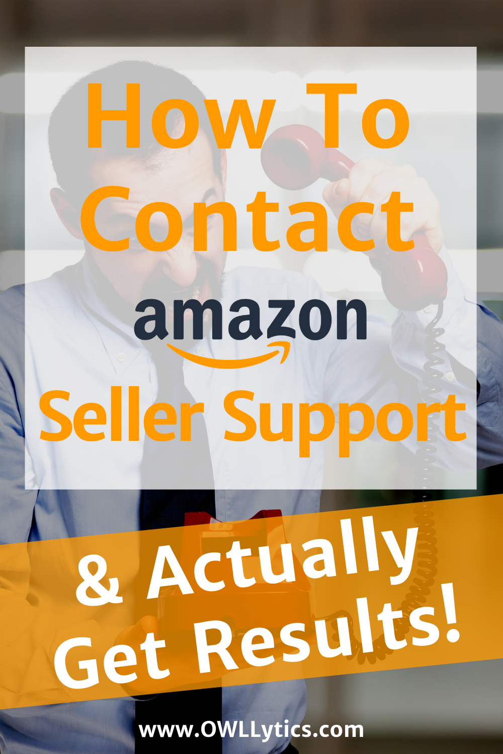 How To Contact Amazon Seller Success & Actually Get Results! - by OWLLytics