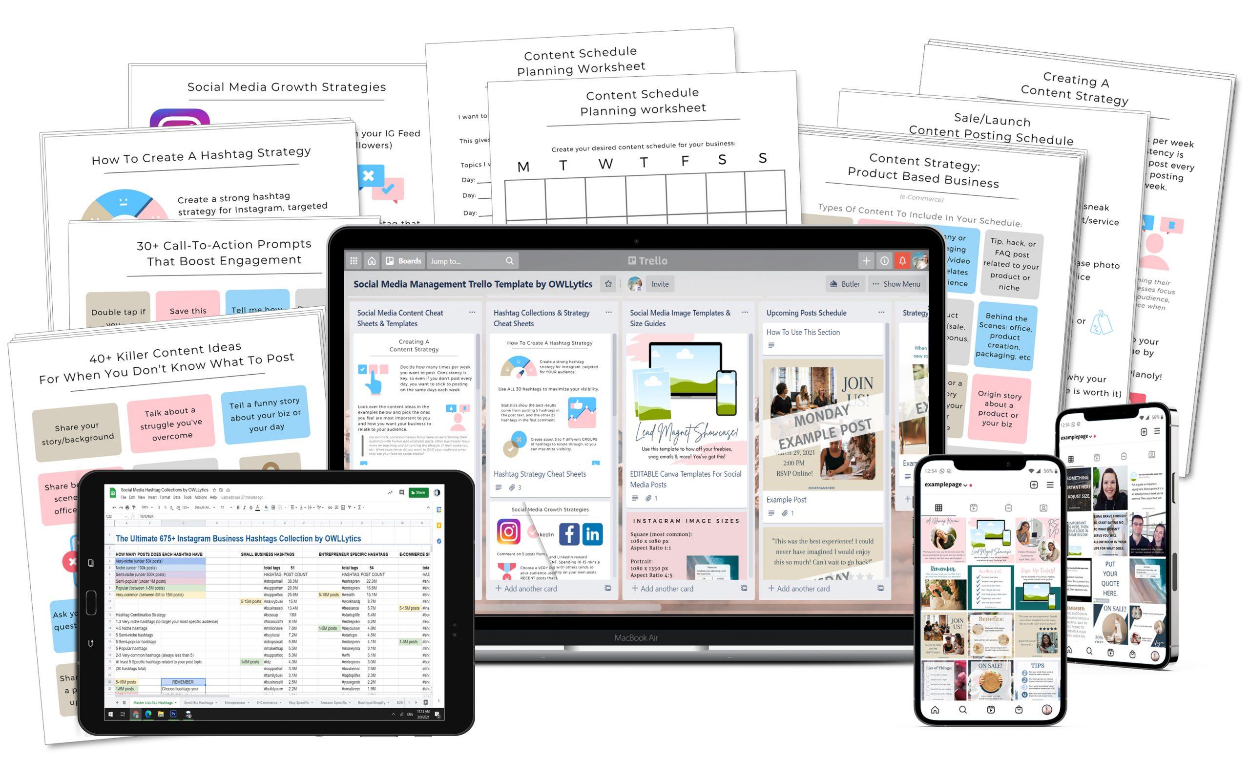 The Social Media Management Success Kit by OWLLytics